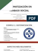 Sistematización LISTO