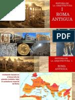ARQUITECTURA CLASICA. ROMA