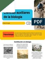 CONTRIBUCIÓN DE UNA CIENCIA A LA BIOLOGÍA