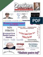 Datina - Editie Nationala - 29-30.05.2021- prima pagina