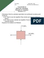 CH03_Etude des Contraintes