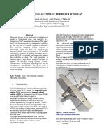 LONGITUDINAL AUTOPILOT FOR DELTA WING UAV