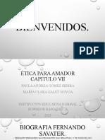 FERNANDO SAVATER CAPITULO 7 NUEVAS