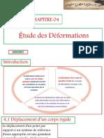 CH4_Étude des Déformations