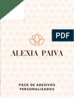 Pack de Adesivos - Alexia Paiva