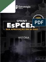 -SPRINT EsPCEx Caderno 3 História