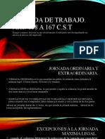 JORNADA DE TRABAJO - diapositivas juan castaño