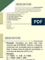 003-DESCONTOS