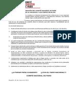 28-05-21 Declaracion Del Cnp