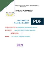 CUADRO COMPARATIVO DE TIPOS DE EMPRESA