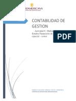 Actividad 8 - Elaboración de Estados Financieros de propósito especial – costos