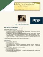 Boletín jurisprudencial n.° 5-2021