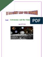 UNIT FIVE ( The Solar System )