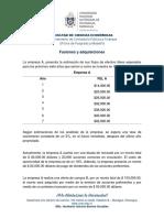 Ejercicio propuesto - Fusiones y adquisiciones...