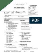 UPLB Form 3