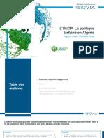 Etude-IQVIA L'UNOP La politique tarifaire en algerie