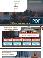 Peran Dan Kesiapan Pengadilan Agama Dalam Menyelesaikan Sengketa Ekonomi & Keuangan Syariah - Binus Tanggal 29 Mei 2021
