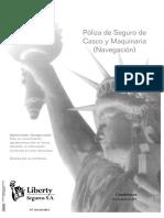 Clausulado Seguro de Casco y Maquinaria (Navegación) 2019