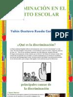 Discriminacion en el ambito escolar