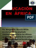 LA EDUCACIÓN EN ÁFRICA