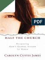 Half the Church by Carolyn Custis James, Excerpt