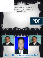Docente Dominicano y Su Relación Con El Uso de La Pedagogía