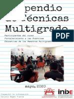 Compendio de Técnicas Multigrado 2020
