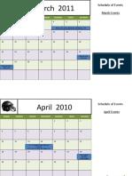 2010 Football Calendar (Fire)