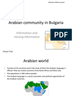 Arabian Community in Bulgaria