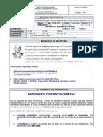 GUIA MEDIDAS DE TENDENCIA CENTRAL