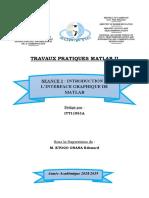 Rapport TP Matlab2 Séance1