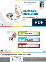 Climate Outlook 2021
