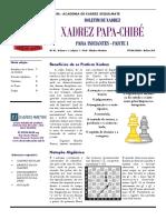 BOLETIM DE XADREZ - N1