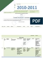 Plan d'Action 2010-2011