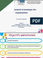 Séance 2-Cours Environnement Économique Des Organisations