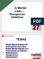 Capítulo 27 - Estado Mental Alterado - Emergencias Diabética