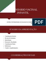 Calendario Vacinal