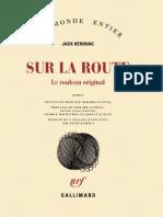 Kerouac,Jack-Sur La Route