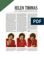 Interview - Helen Thomas