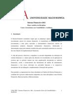 Capitulo I-planoanalitico de Sistema Financeiro 2021