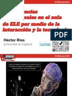 Plantilla presentación Héctor Ríos #TelejornadasDifusión2021
