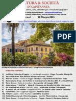 Cultura & Società in Capitanata N. 29 Del 28-05-2021