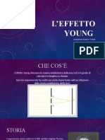 L'effetto Young