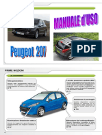 Manuale d'Uso completo PEUGEOT 207