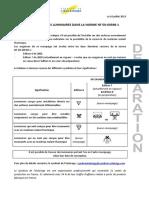 SyndEclairage Declaration Le Marquage F Dans La NF en 60598 1