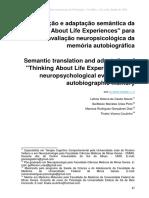 Tradução e Adaptação Semantica
