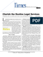 Routine Legal Services