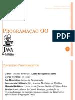 Java Programacao OO Parte 1