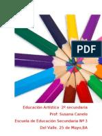 planificación educación artística (plástica) 2º secundaria 2011