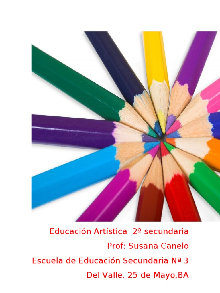 planificación educación artística (plástica) 2º secundaria ... - photo#33